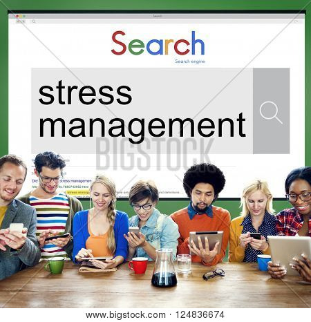 Stress Management Relaxation Realisation Healthcare Concept