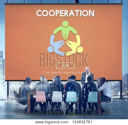 Cooperation Alliance Collaboration Connection Concept
