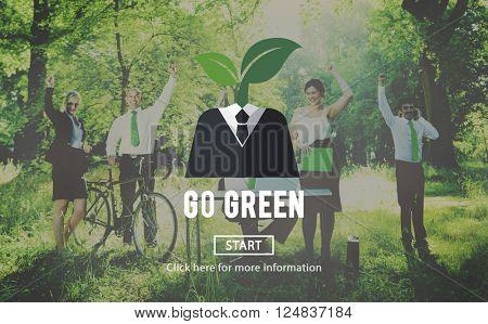 Ecology Environment Go Green Concept