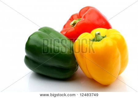 clolored paprika