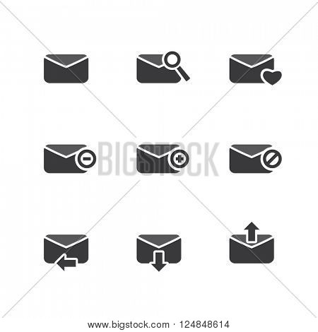 E-mail Icon Set