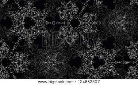 Abstract background seamless lacy beautiful pattern for design