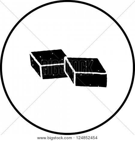 bouillon cubes symbol