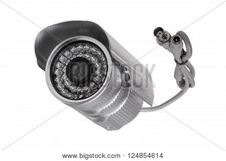 External Security Surveillance Camera With Night Vision Led Backlight