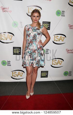 LOS ANGELES - APR 6:  Brianna Brown at the 7th Annual Indie Series Awards at the El Portal Theater on April 6, 2016 in North Hollywood, CA
