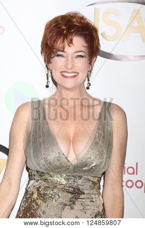 LOS ANGELES - APR 6:  Carolyn Hennesy at the 7th Annual Indie Series Awards at the El Portal Theater on April 6, 2016 in North Hollywood, CA