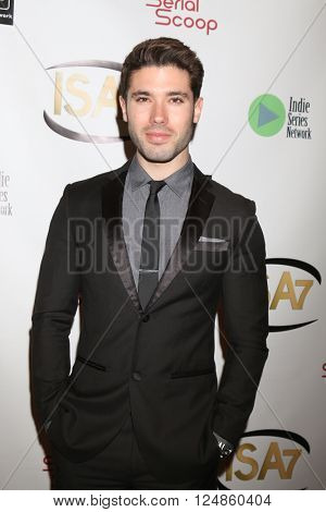 LOS ANGELES - APR 6:  Kristos Andrews at the 7th Annual Indie Series Awards at the El Portal Theater on April 6, 2016 in North Hollywood, CA