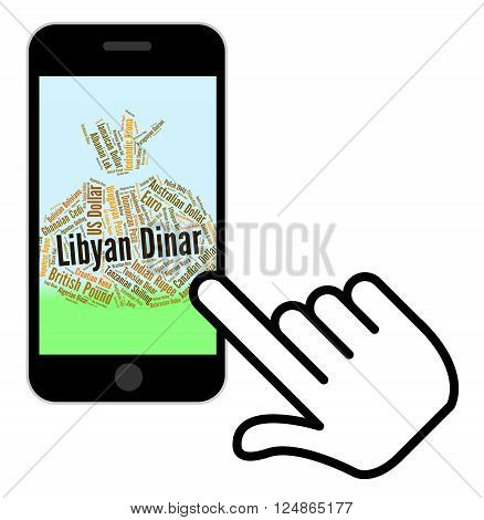 Libyan Dinar Represents Foreign Exchange And Broker