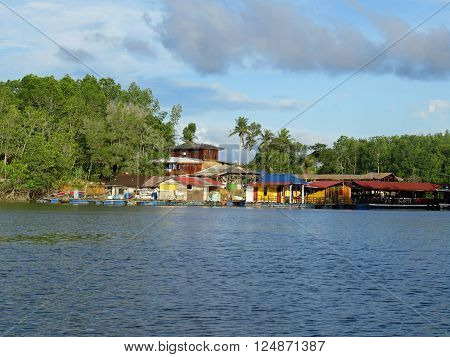 Sights From The Bujang Sungai Lebam River Cruise Of Malaysia