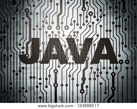 Programming concept: circuit board with Java
