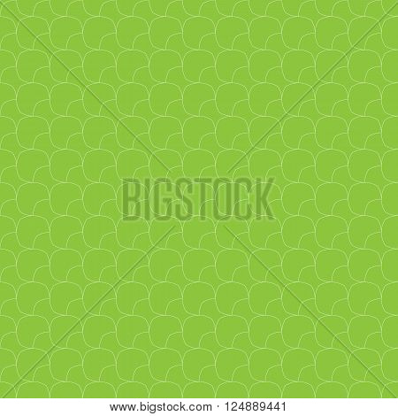 Abstract geometric octagon round corner seamless pattern background, Vector illustration with swatches
