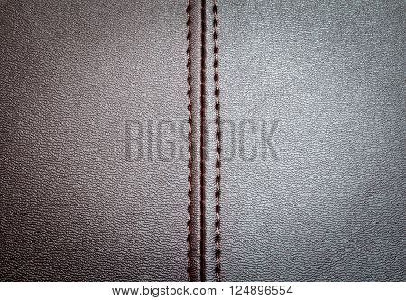 a leather texture with a vertical seam