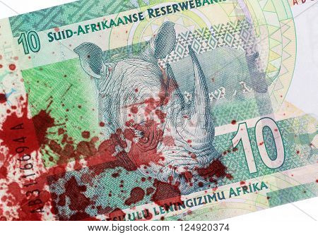 Ten South African Rand, Blood
