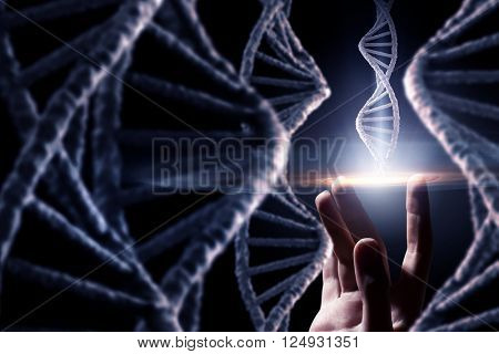 DNA molecule research