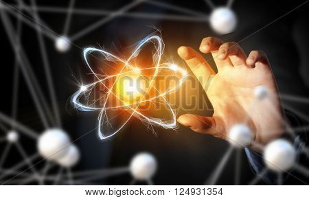 Atom molecule research