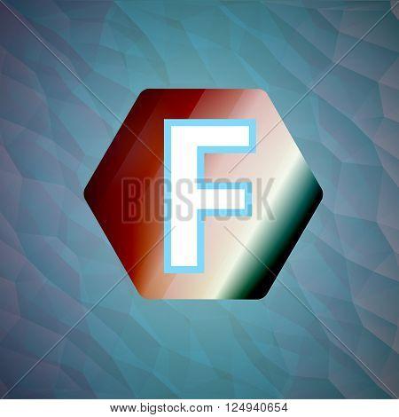 Vector illustration letter f set illustration esp 10