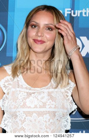 LOS ANGELES - APR 7:  Katharine McPhee at the American Idol FINALE Arrivals at the Dolby Theater on April 7, 2016 in Los Angeles, CA