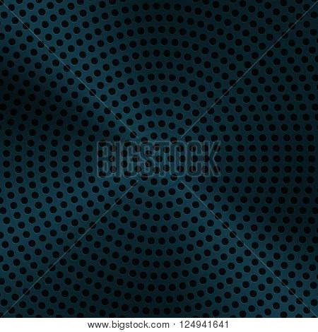 Technology background with seamless circle perforated metal chrome iron stainless steel silver grill texture for internet sites web user interfaces ui and applications apps. Vector Pattern. eps10 vector illustration