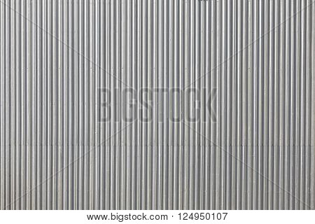 Corrugated Metal Roof, Industrial Background Or Texture.