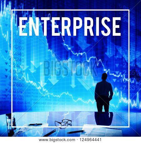 Enterprise Franchise Industry Company Concept