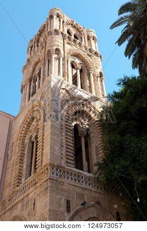 Chiesa San Cataldo in Piazza Bellini. Palermo Sicily. Italy.