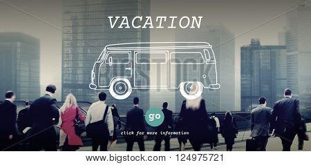 Vacation Break Explore Journey Leave Travel Concept