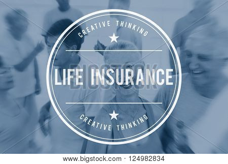 Life Insurance Healthcare Protection Concept