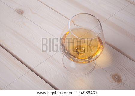 Brandy On Light Wood