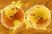 Постер, плакат: Карта мира