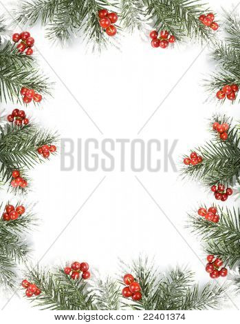 christmas card with space for your text
