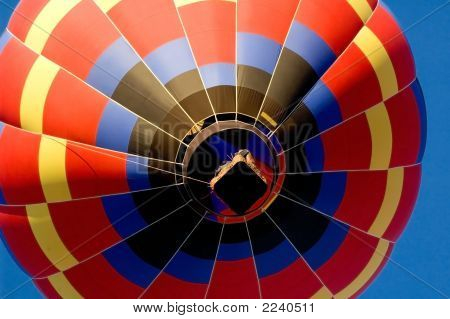 Under The Hot Air Balloon