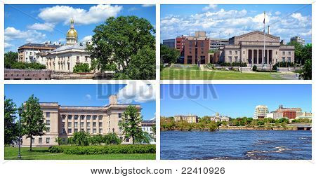Trenton New Jersey Collage