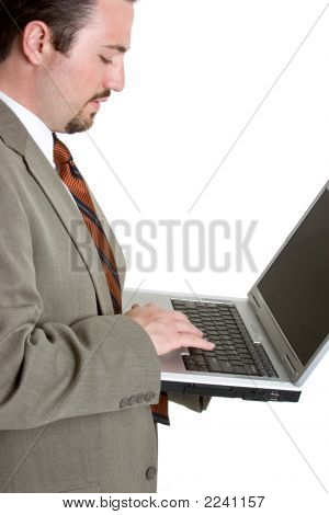 Laptop Businessman