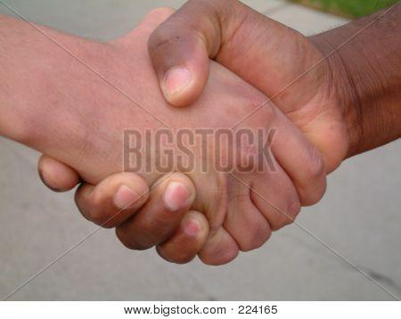 Black And White Handshake1