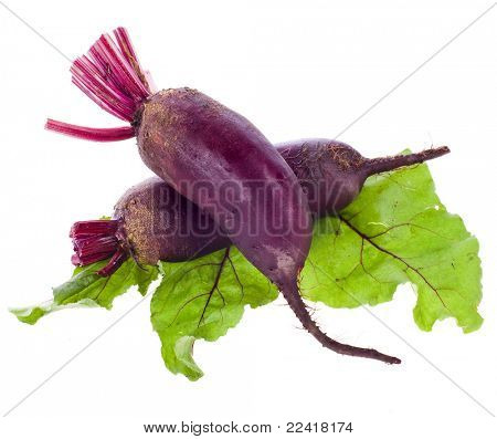 Beet , Beetroot , Table Beet isolated on white