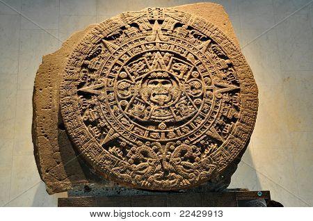 Aztekischer Kalender Stein - Mexiko-Stadt