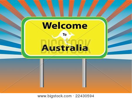 Welcome Australia Rays