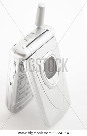Silver Cellular Phone