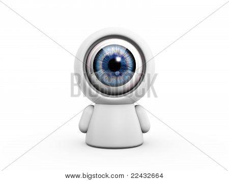 Camera Eye Doll