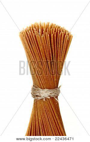 Whole grain raw pasta
