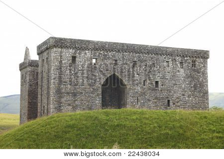 Big And Strong Medieval Hermitage Castle