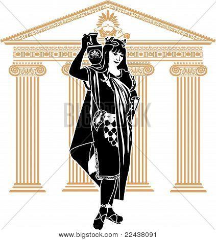 Roman patrician woman  second variant