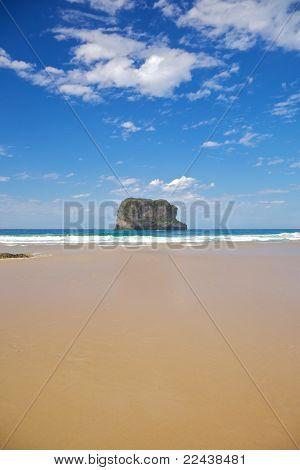 Island In Ballota Beach