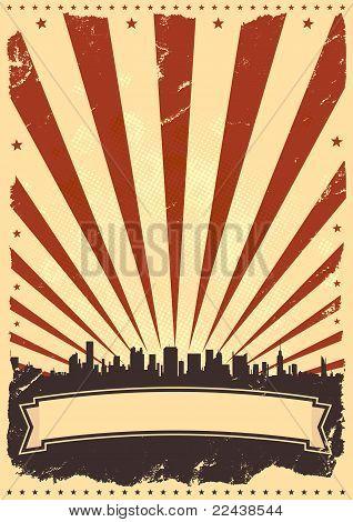 Grunge-american-poster