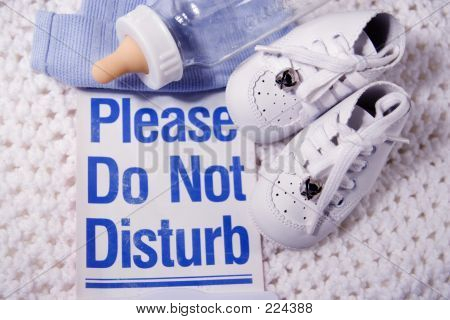 Please Do Not Disturb Baby