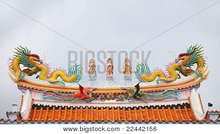 roof  Shrine of China
