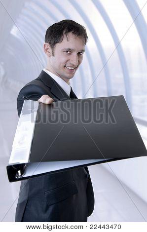 Young Success Business Man