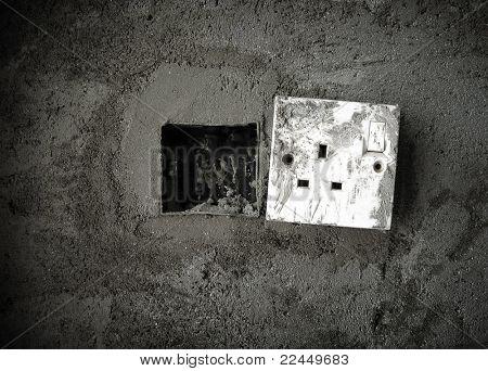 broken power plug