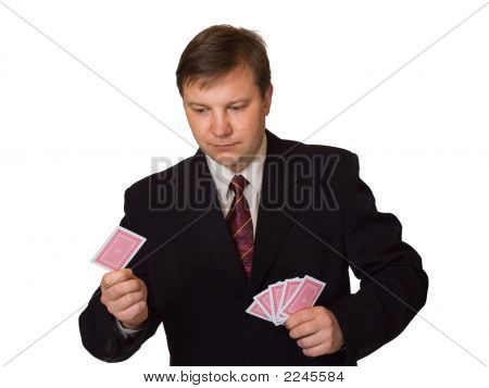 Men With Playing Cards