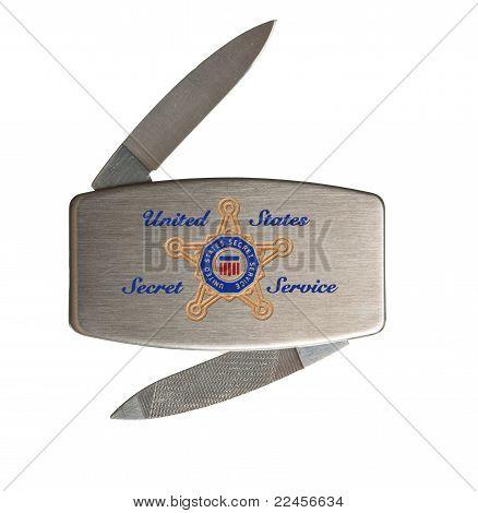 Secret Service Penknife